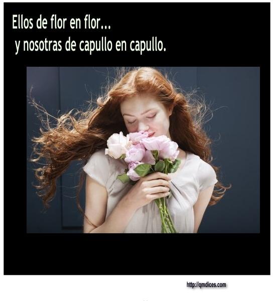 Ellos de flor en flor...