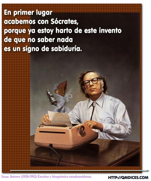 Frases De Isaac Asimov Qmdices