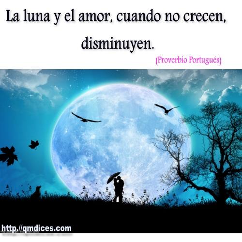 La luna y el amor