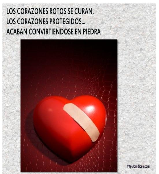 Los corazones rotos se curan...