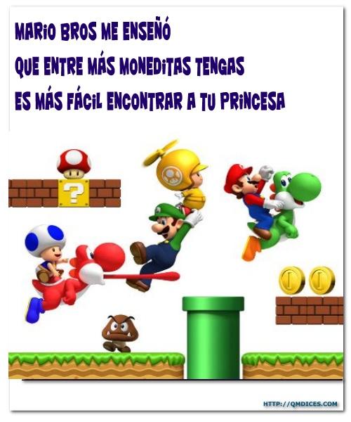 Mario Bros me enseñó...