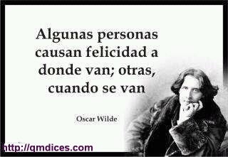 Algunas personas causan felicidad...