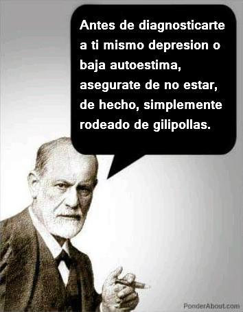 Antes de diagnosticarte a ti mismo depresión ...