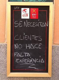 Se necesitan clientes...